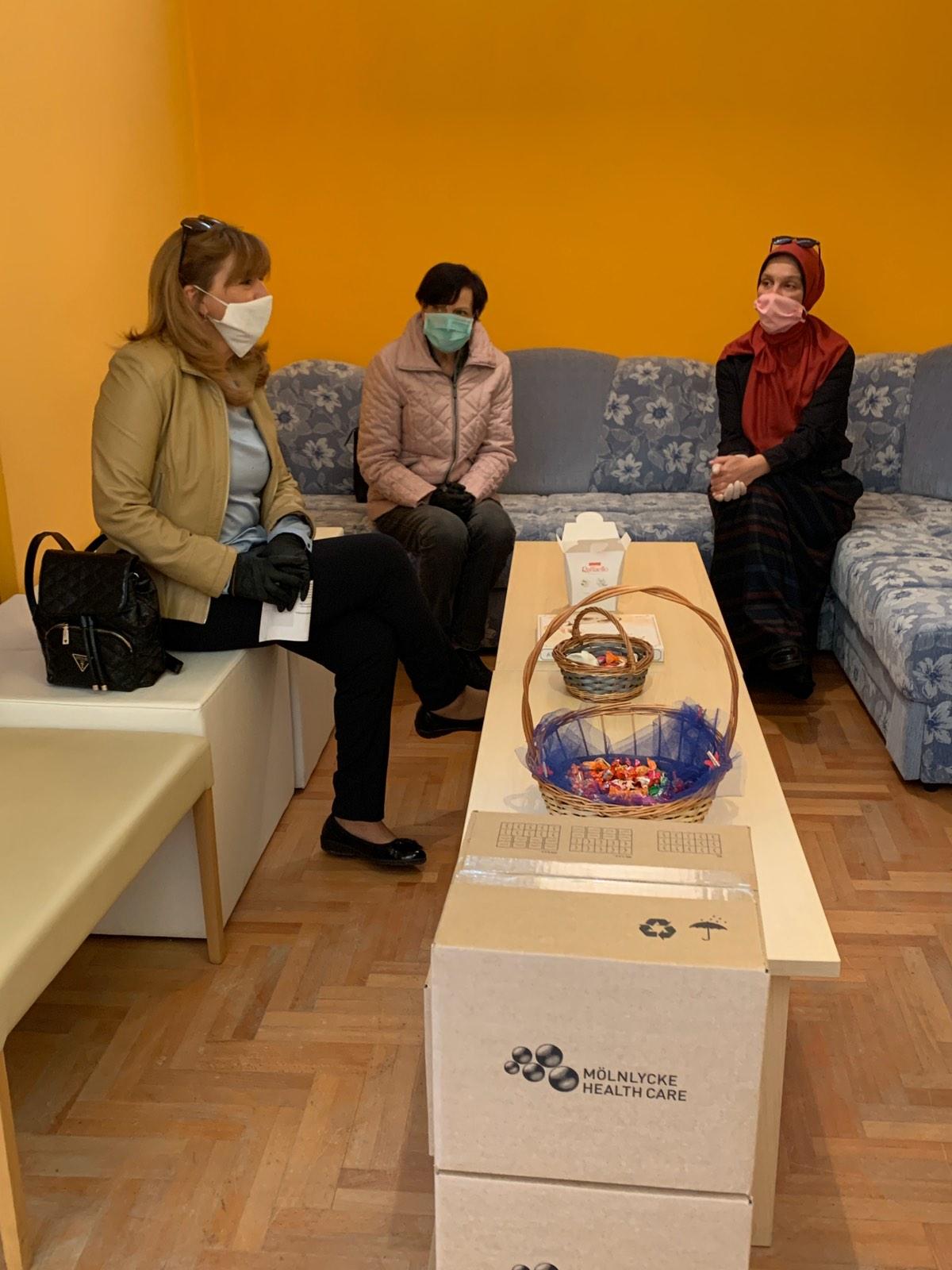 Donacija za Leptiriće BiH iz Njemačke ambasade